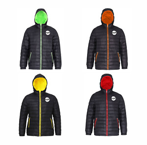 PULSE MENS WINTER WARM QUILTED PADDED INSULATED PUFFER COAT MACHINE WASHABLE