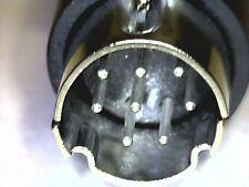 Mini-DIN-Stecker 8pol mit Knickschutz 8-Pin 8 Kontakte male