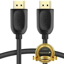 Fosmon 10FT 4K UHD HD High Speed HDMI Cable for PS4 PS3 Xbox One Wii U Switch