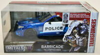 Jada 1/24 Scale 98400 - Transformers Metal Model - Barricade Police Car
