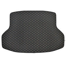 Motor Trend PU Leather Trunk Mat Cargo Liner For Honda Civic 2016 - 2017