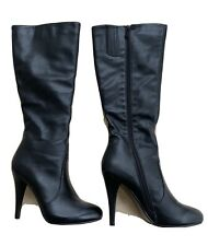 Ladies Long Black Boots Size 9 NWOB