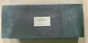 RARE Large Copper Cookie Cutters Martha Stewart by Mail Boxed 3 Snowflake Set