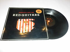 "RED GUITARS - America & Me - 1986 UK 3-track 12"" vinyl single"