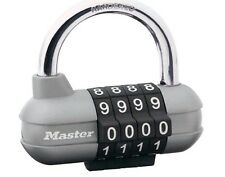 Master Lock Pro Sport combination padlock Die Cast 64mm 4 Digit Wheels T33