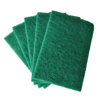 Kitchen Dish Bowl Scour Scouring Scrub Cleaning Pads 5 Pcs FP