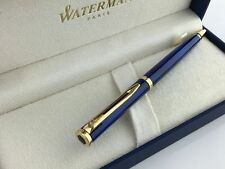 WATERMAN PREFACE ROMANCE  BLUE MARBLE  BALLPOINT PEN   NEW IN BOX