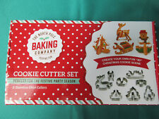 Christmas Cookie Cutter Set - make your own 3D Christmas scene in cookies