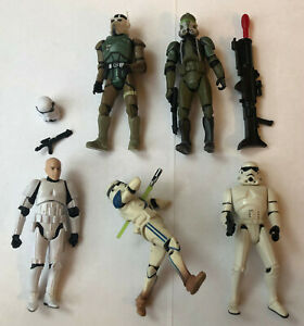 """Star Wars Action Figuren 3,75"""" (Hasbro, Kenner) - hier: Stormtrooper und Clone"""