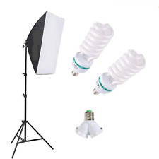 "Fodoto 450W Photo Video 20""x28"" Softbox Lighting Kit Daylight 5500K"