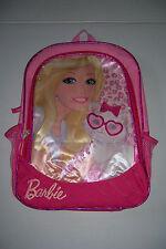 "BARBIE WITH KITTY BACKPACK GIRLS 16"" SCHOOL BACKPACK NWT!"