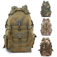 Men Military Tactical Backpack Outdoor Rucksack Hiking Camp Trekking Bag Cycling