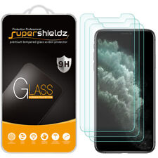 "3X Supershieldz Tempered Glass Screen Protector for iPhone 11 Pro Max (6.5"")"