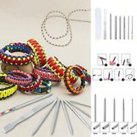 7Pcs/set Paracord Bracelet Stainless Steel Fid Lacing Stitching Needles Tool Set