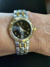 Cyma Charisma Women's Watch 18 K Gold And Stainless Steel