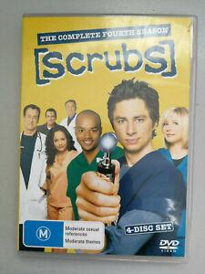 Scrubs TV Series Season 2 DVD 4 disc set Region 4 VGC Comedy