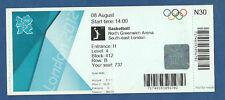 Orig.Ticket  Olympische Spiele LONDON 2012 / BASKETBALL   LITAUEN - RUSSLAND 1/4