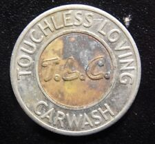 T.L.C. TOUCHLESS LOVING CARWASH $1 TOKEN!   WW326XXX