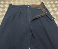 """Vintage British RAF Royal Air Force Number 1 No1 Officers Dress Trousers W33"""""""