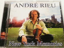 "ANDRE RIEU ""NEW YORK MEMORIES""   MUSIC CD, 15 + 2 SONGS ""preowned"" AUZ SELLER"