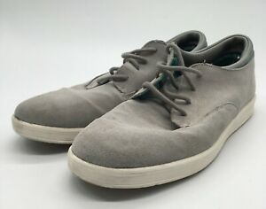ALDO Gray Suede Lace Up Low Top Casual Fashion Sneakers Men's Size 12