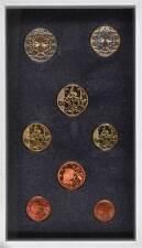 42369) Frankreich Euro - KMS 2001, von 1 Cent bis 2 Euro, im Folder, PP.