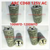 Yearkala 5pcs//Set CD60 Small Motor Run Capacitor 100UF 450V Water Pump Start Capacitor