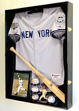Ex Deep Jacket, Uniform, Jersey Shadow Box Display Case Cabinet 98% UV -Lockable