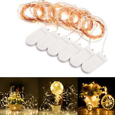120 LEDs Mini LED Cooper Wire String Fairy Lights Flexible Kit Battery Powered