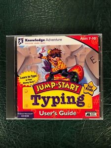 NEW JUMP START TYPING User's Guide (Ages 7-10) PC Windows / Mac