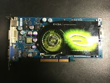 ✔ tested Evga 7800GS AGP 256MB DDR3 RARE gaming videocard!!