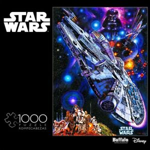 """Buffalo Star Wars Millennium Falcon """"You're All Clear, Kid"""" 1000 Piece Puzzle"""