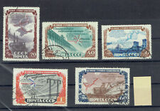 RUSSIA 1951yr, M. 1601-05 ,HYDROELECTRIC STATION - USED