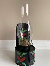 Vintage Hand Painted Metal Oil Lamp/Lantern W/ P&A Co. Eagle Burner