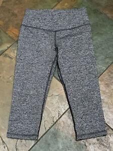 Victoria's Secret VSX XS Cropped Heather Gray Workout Yoga Pant