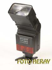 Soligor TIF 380 AF Blitz für diverse Kameras + Adapter für Minolta Dynax 02816