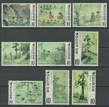 South Korea  ☀ Paintings of the Yi Dynasty ☀ MNH **