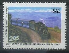 India 1982 Transport, Railway, Trains, Locomotives MNH**