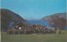 Postcard New York Us Military Academy Band West Point c1954