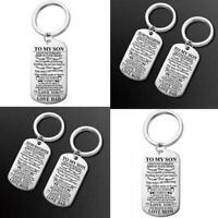 For Sister Daughter Mother Mom Women Keychain Keyring Chain Key O1K5
