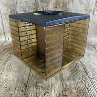 VINTAGE RETRO Music Plastic Cassette Storage CAMBRA Stackable Cube
