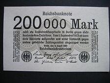 Alemania 200000 Marco 9.8.1923 ROS. 99b (P100) UNC