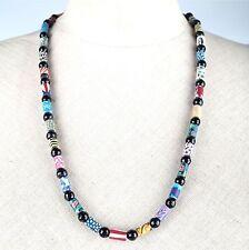 Markenlose Modeschmuck-Halsketten aus Glas mit floralen Themen