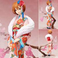 Anime Stronger Vocaloid MEIKO Flowers Kimono Ver. PVC Figure New Toy Gift No Box