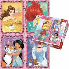 Trefl 34256 4-in-1 Disney Princesses With Friends Puzzle