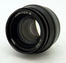 Vintage Jupiter-8 50mm F2 39mm Rangefinder Screw Mount Prime Lens #2403MS
