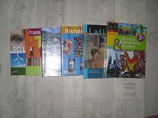 Lot manuels scolaire 1ère TBE