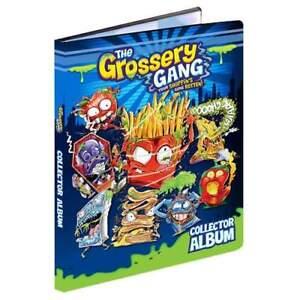 GROSSERY GANG Season 1 Collector Album Starter Pack inc 2 Packs of Cards