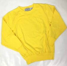 Vintage Womens Forenza Sweatshirt Yellow Pop of Color Size Small