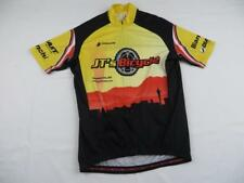 Hincapie Mens Jts Bicycle Bike Cycling Jersey Sz Small Yellow Bianchi Giant S/S